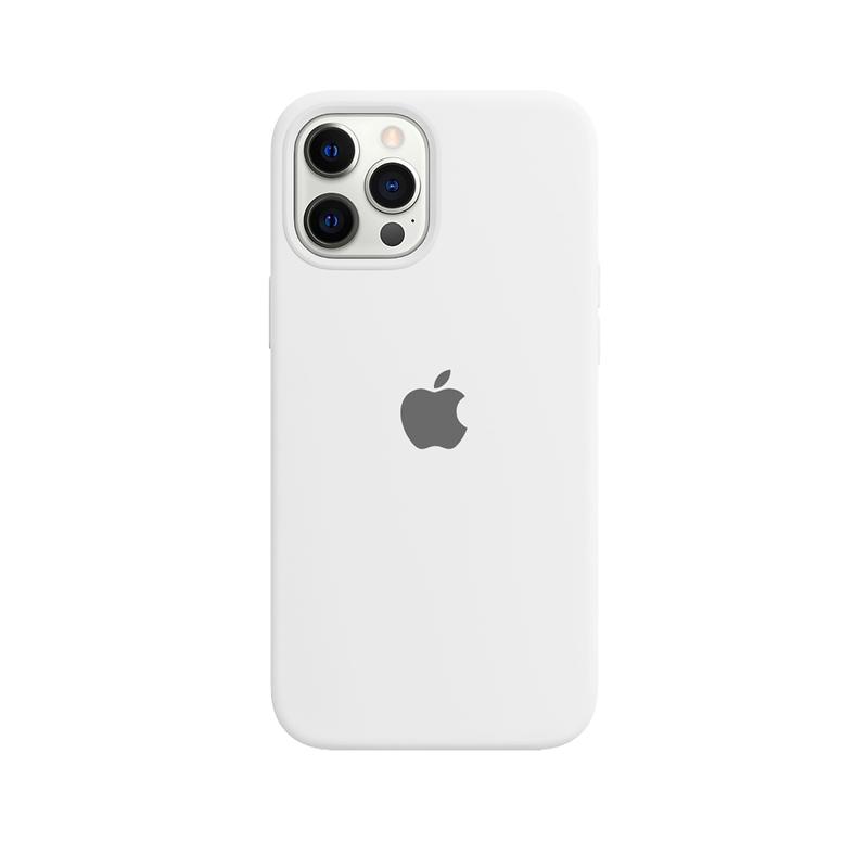 Case Capinha Branca para iPhone 12 Pro Max de Silicone