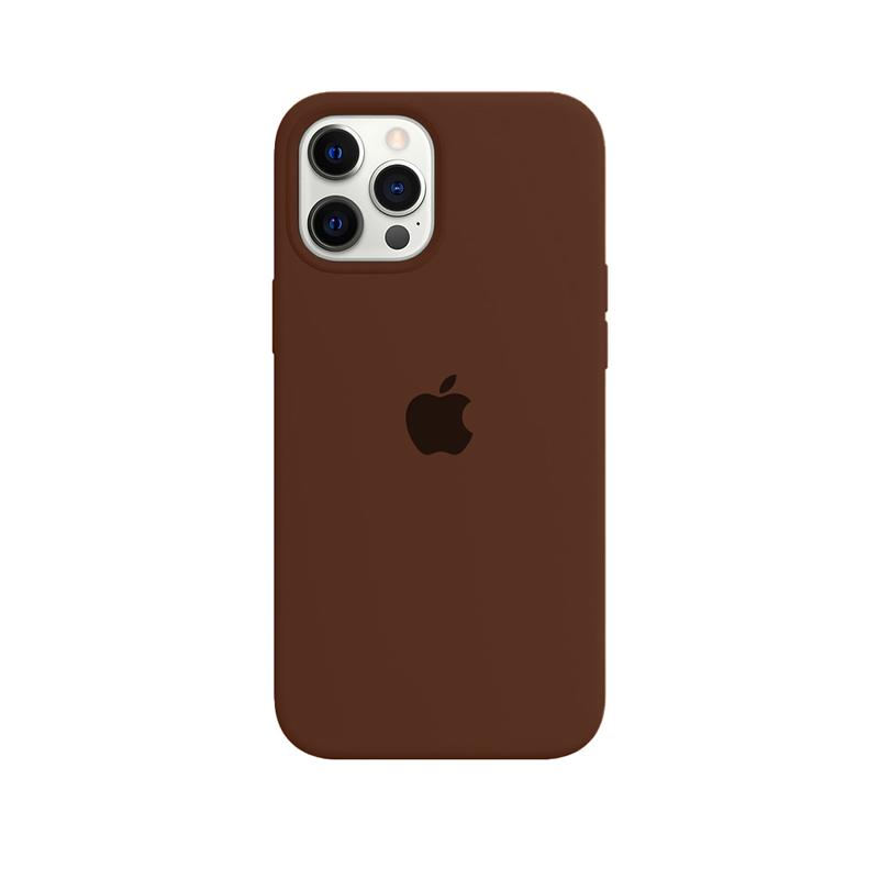Case Capinha Chocolate para iPhone 12 Pro Max de Silicone