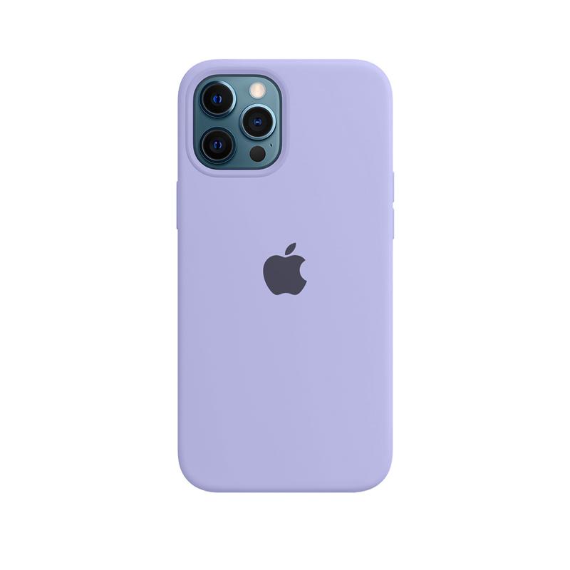 Case Capinha Lilás para iPhone 12 Pro Max de Silicone