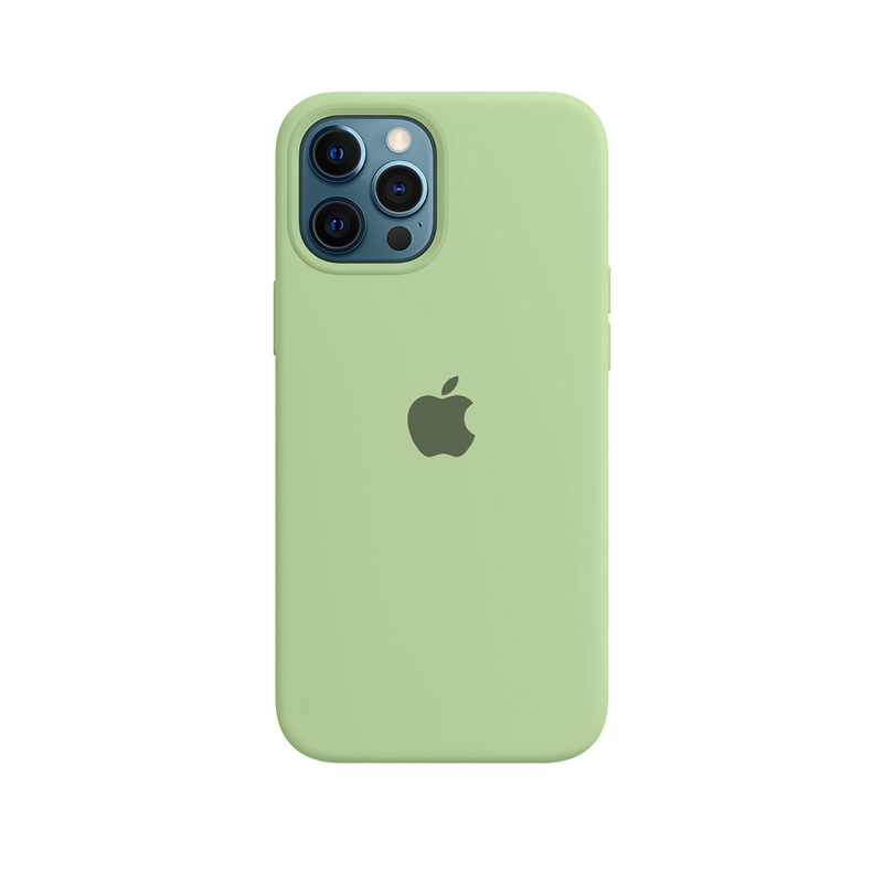 Case Capinha Verde Menta para iPhone 12 Pro Max de Silicone