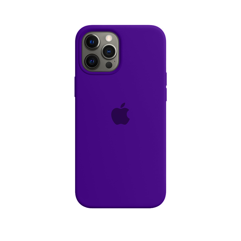 Case Capinha Violeta para iPhone 12 Pro Max de Silicone