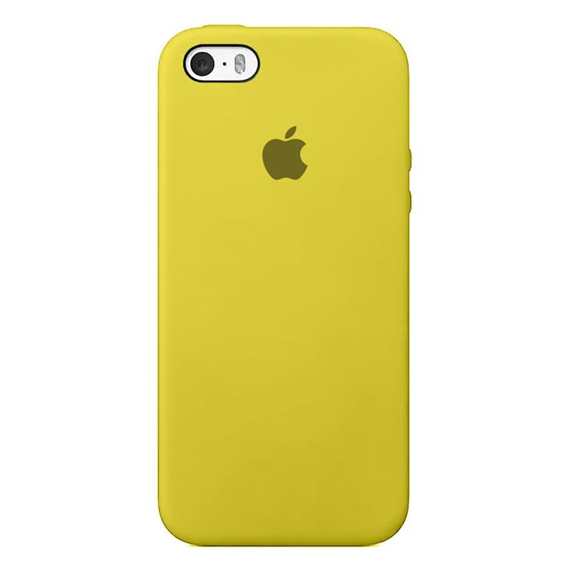 Case capinha de Silicone Amarelo para Iphone