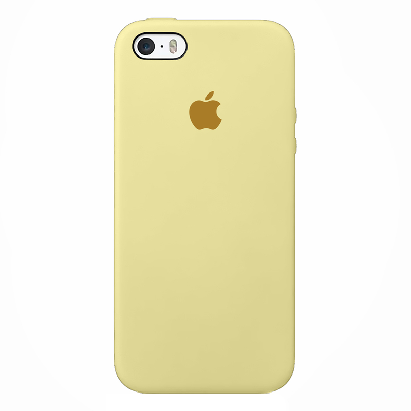 Case capinha de Silicone Amarelo Bebê para Iphone