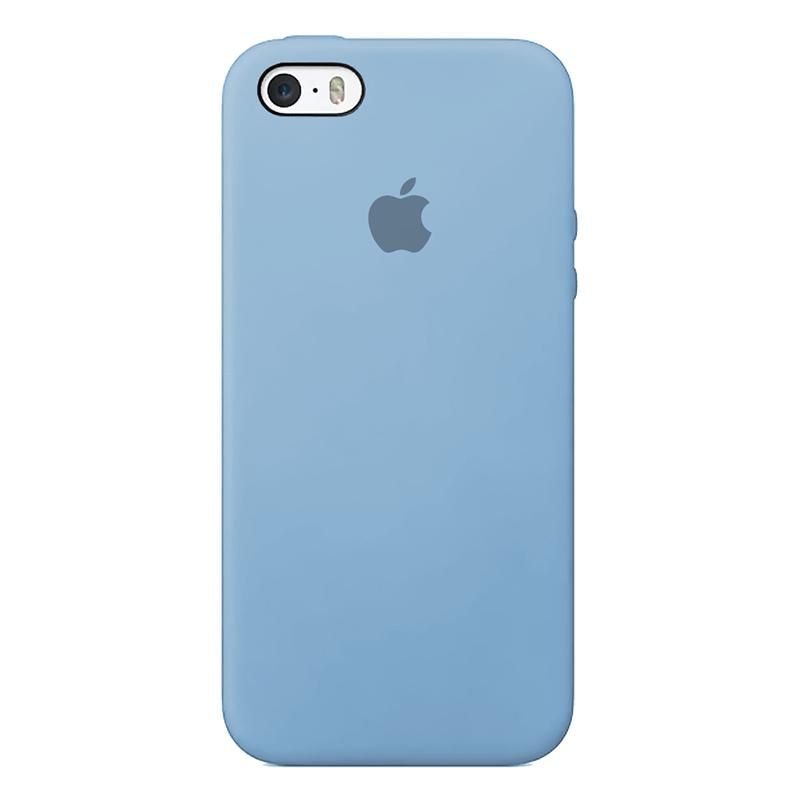 Case capinha de Silicone Azul Bebê para Iphone