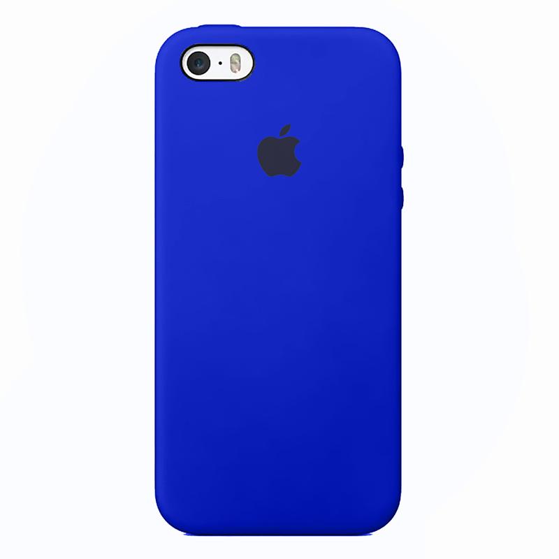 Case capinha de Silicone Azul Bic para Iphone