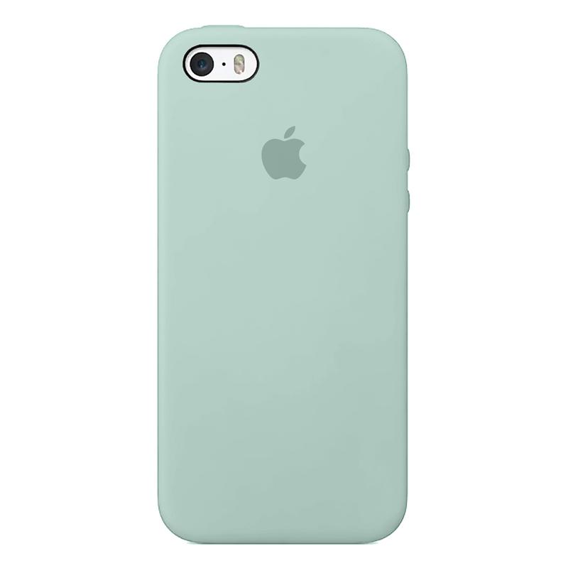 Case capinha de Silicone Azul Ceu para iPhone
