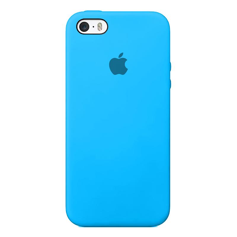 Case Capinha de Silicone Azul Piscina para iPhone 5, 5s, 5c e SE 1 Geração