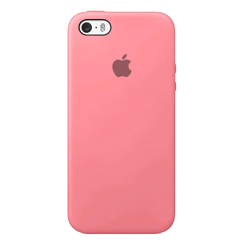 Case Capinha de Silicone Rosa Chiclete para iPhone 5, 5s, 5c e SE 1 Geração