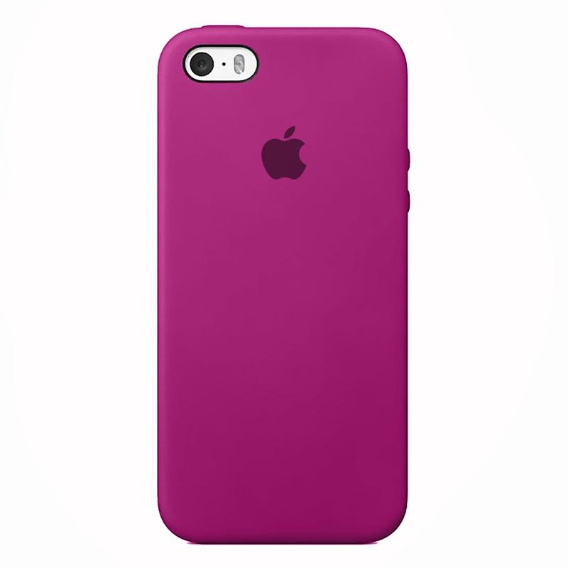 Case Capinha de Silicone Rosa Hibisco para iPhone 5, 5s, 5c e SE 1 Geração