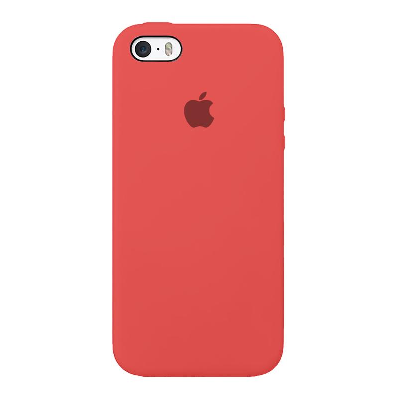 Case Capinha de Silicone Rosa Neon para iPhone 5, 5s, 5c e SE 1 Geração