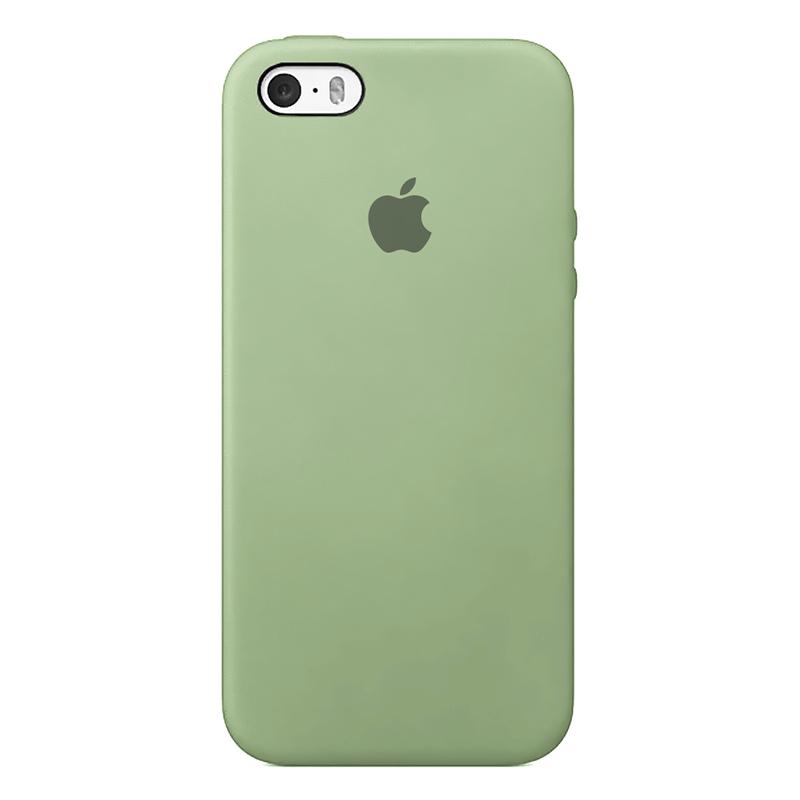 Case Capinha de Silicone Verde Menta para iPhone 5, 5s, 5c e SE 1 Geração