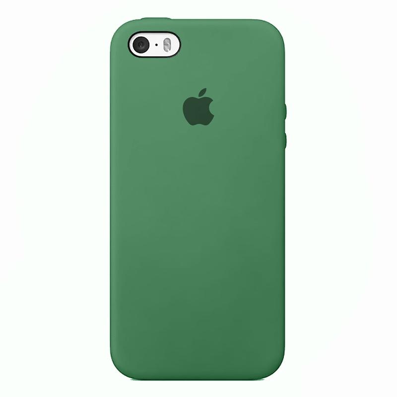 Case Capinha de Silicone Verde Pacífico para iPhone 5, 5s, 5c e SE 1 Geração