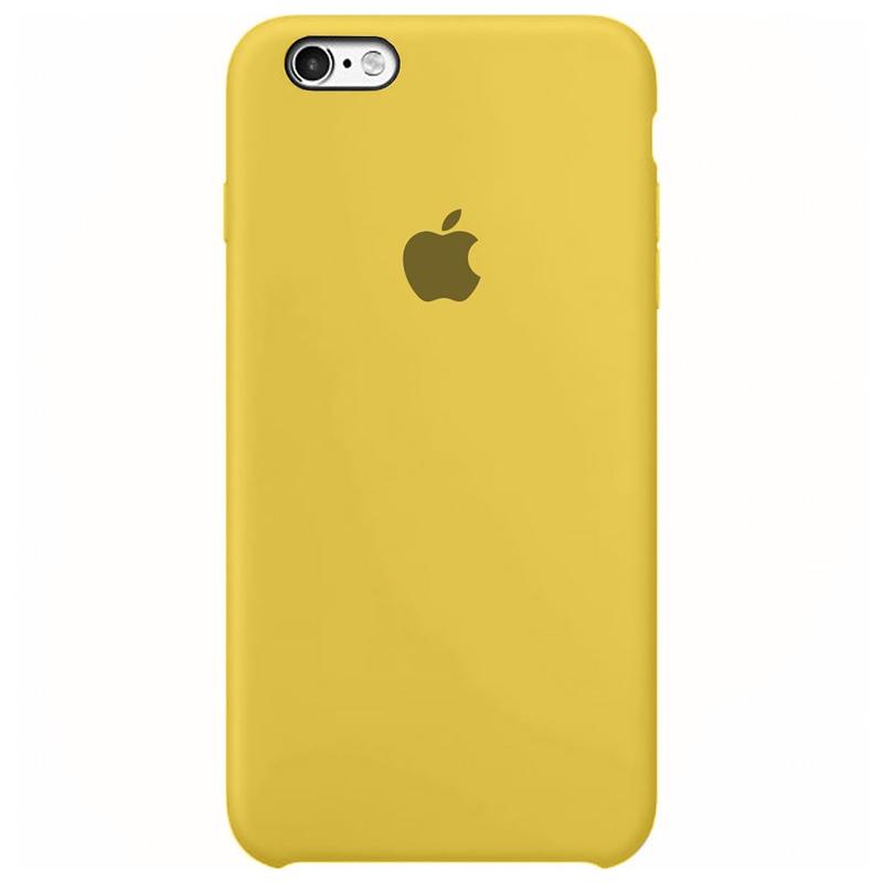 Case Capinha Amarela para iPhone 6 e 6s de Silicone