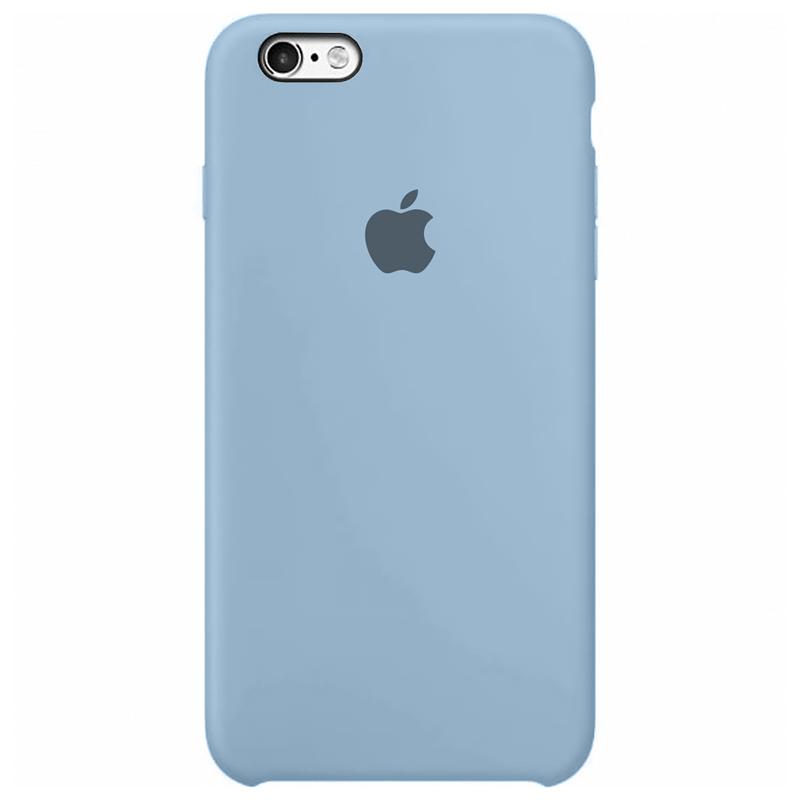 Case Capinha Azul Bebê para iPhone 6 e 6s de Silicone