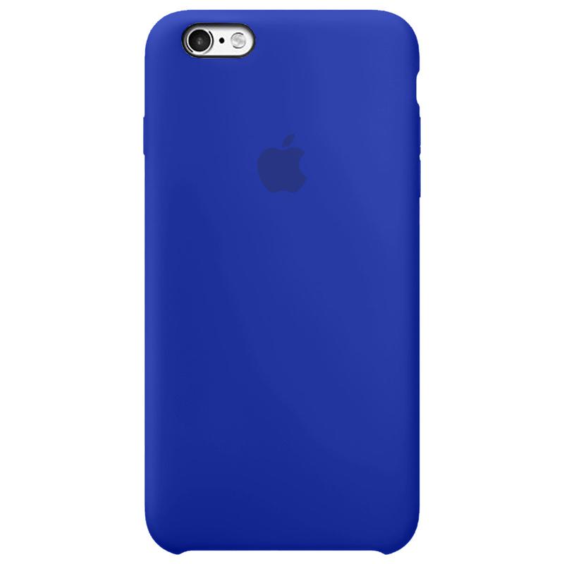 Case Capinha Azul Caneta para iPhone 6 e 6s de Silicone