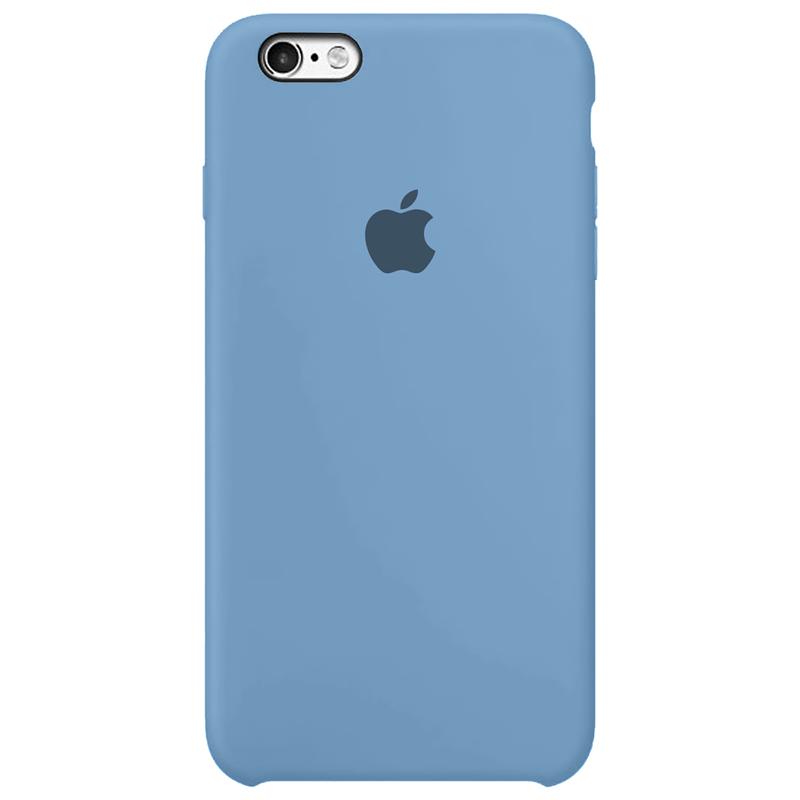 Case Capinha Azul Caribe para iPhone 6 e 6s de Silicone