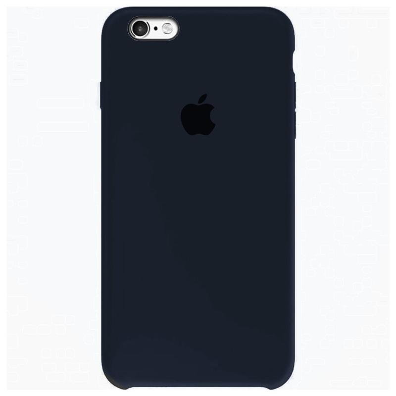 Case Capinha Azul Cobalto para iPhone 6 e 6s de Silicone