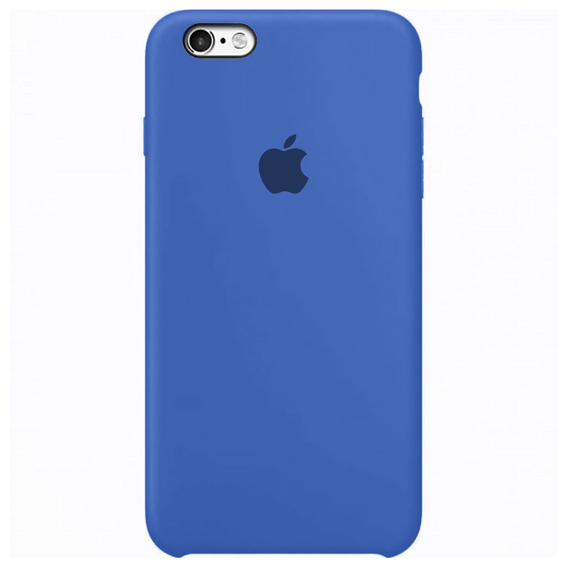 Case Capinha Azul Royal para iPhone 6 e 6s de Silicone