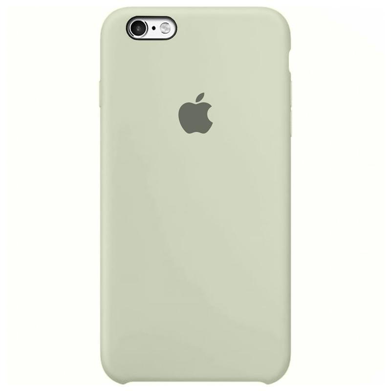 Case Capinha Branco Off-White para iPhone 6 e 6s de Silicone