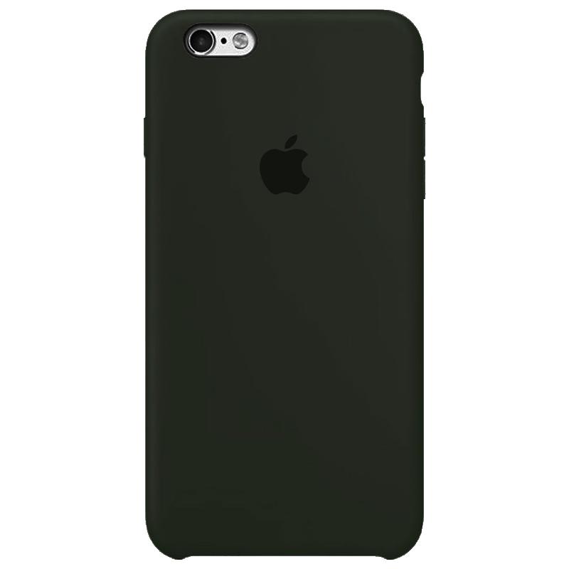 Case Capinha Cinza Escuro para iPhone 6 e 6s de Silicone