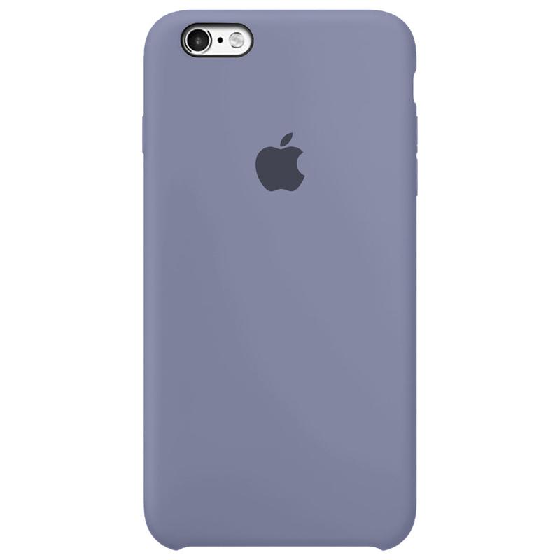Case Capinha Cinza Lavanda para iPhone 6 e 6s de Silicone