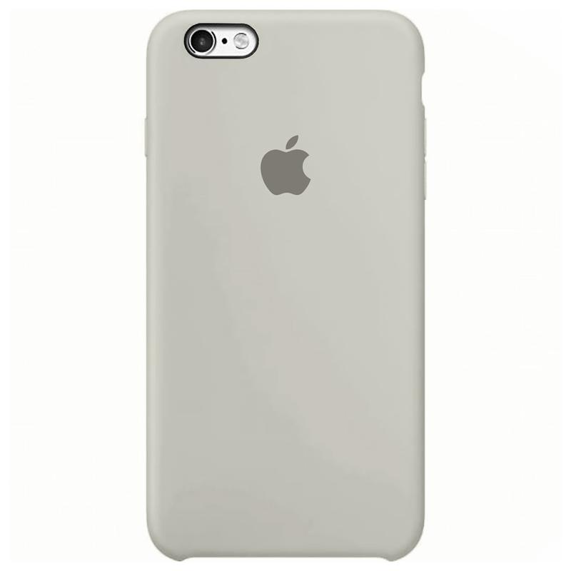 Case Capinha Cinza para iPhone 6 e 6s de Silicone