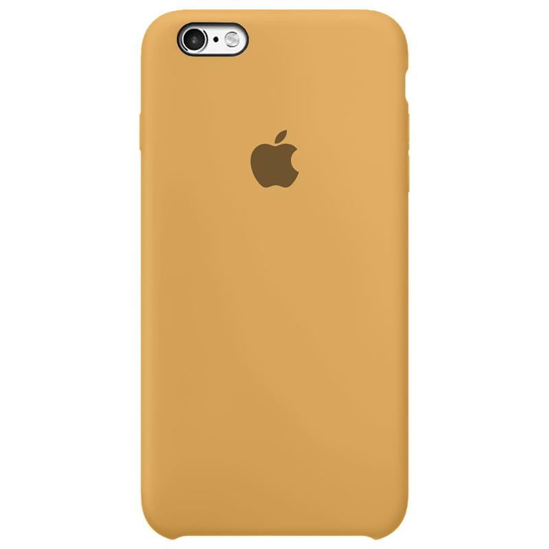 Case Capinha Mostarda para iPhone 6 e 6s de Silicone