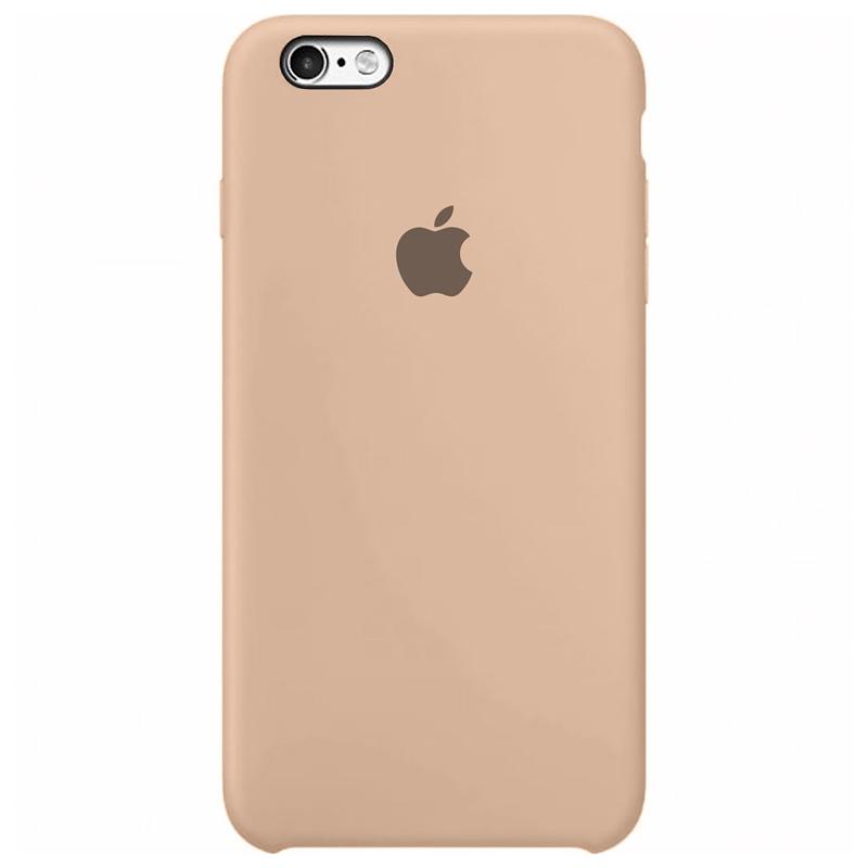 Case Capinha Rosa Areia para iPhone 6 e 6s de Silicone