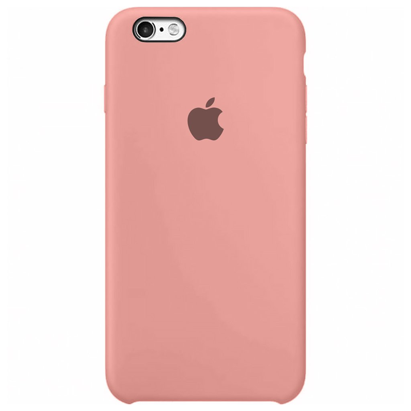 Case Capinha Rosa Chiclete para iPhone 6 e 6s de Silicone