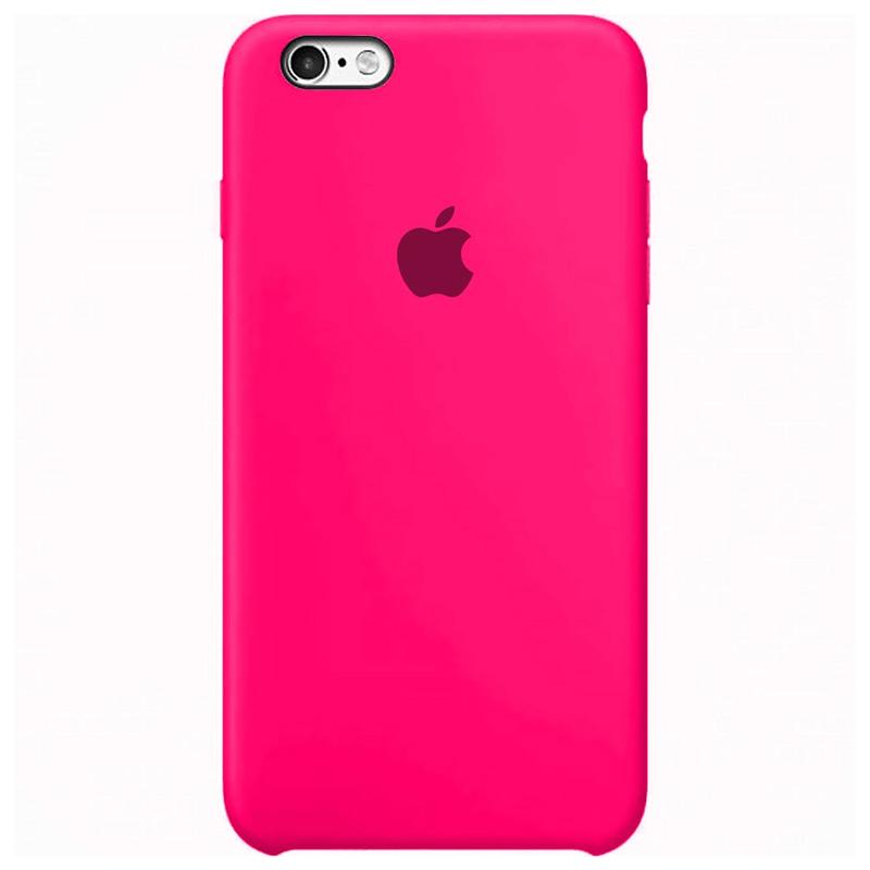 Case Capinha Rosa Pink para iPhone 6 e 6s de Silicone