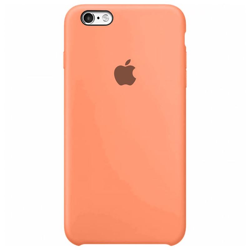 Case Capinha Rosa para iPhone 6 e 6s de Silicone