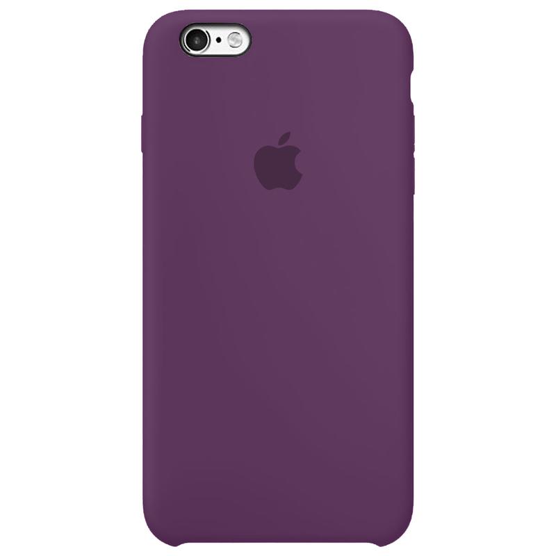 Case Capinha Roxa para iPhone 6 e 6s de Silicone