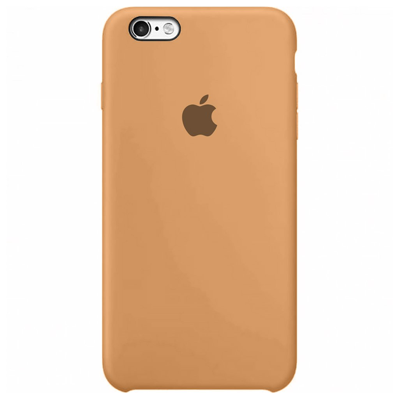 Case Capinha Tangerina para iPhone 6 e 6s de Silicone