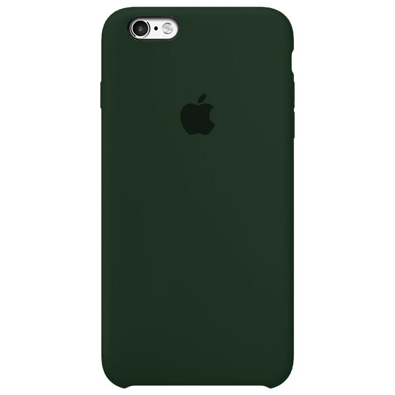 Case Capinha Verde Floresta para iPhone 6 e 6s de Silicone