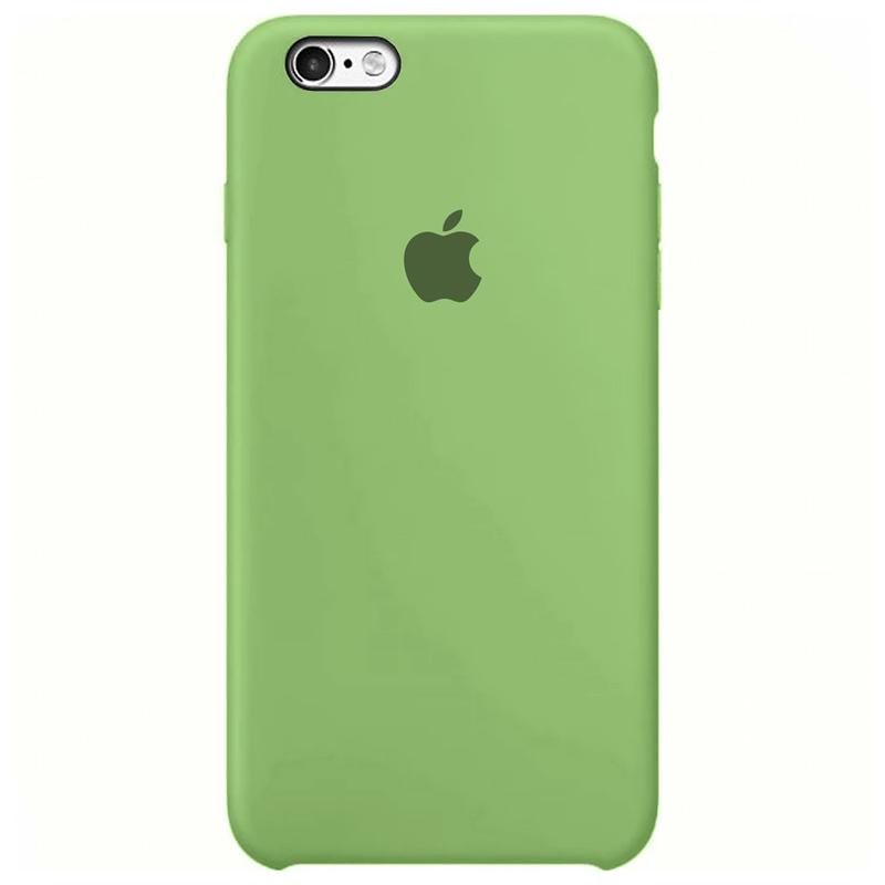 Case Capinha Verde Menta para iPhone 6 e 6s de Silicone
