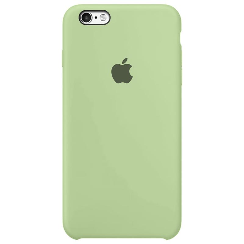 Case Capinha Verde Pistache para iPhone 6 e 6s de Silicone