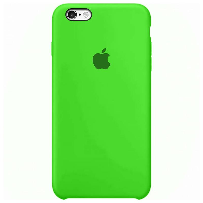 Case Capinha Verde para iPhone 6 e 6s de Silicone