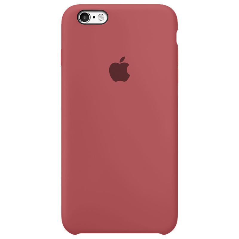 Case Capinha Vermelho Antigo para iPhone 6 e 6s de Silicone