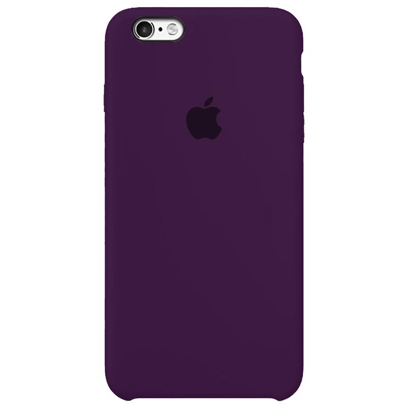 Case Capinha Violeta para iPhone 6 e 6s de Silicone