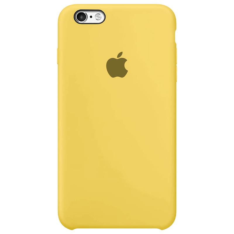Case Capinha Amarela para iPhone 6 Plus e 6s Plus de Silicone