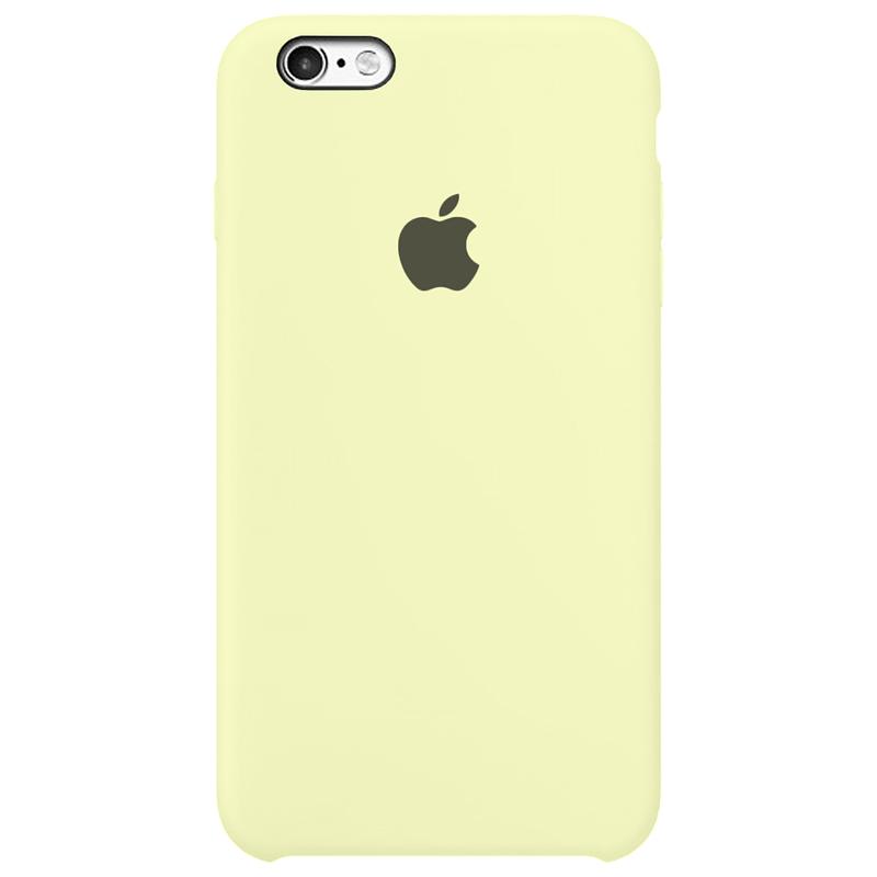 Case Capinha Amarelo Claro para iPhone 6 Plus e 6s Plus de Silicone