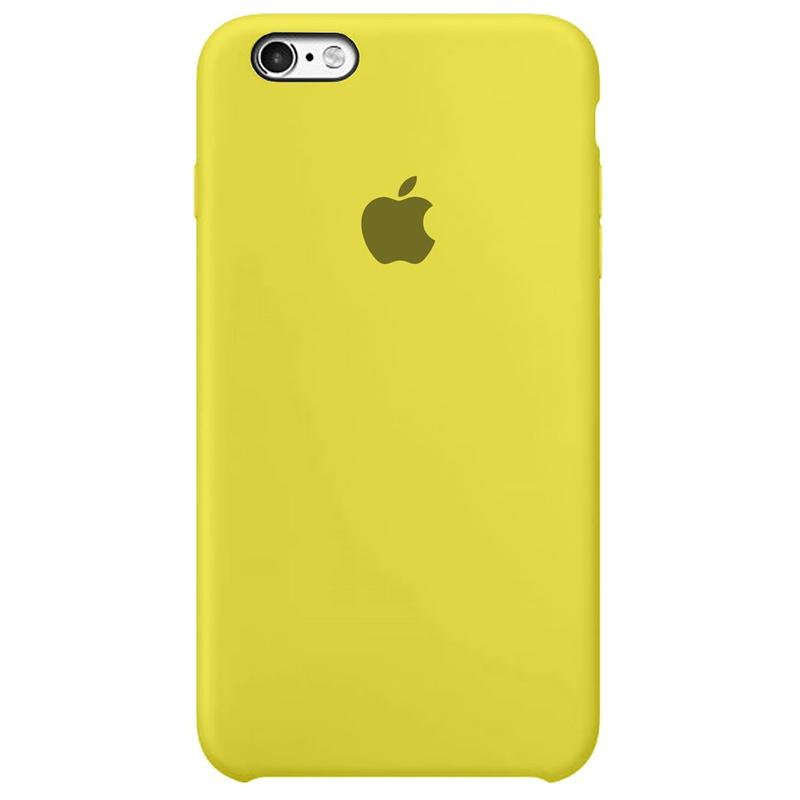 Case Capinha Amarelo Limão para iPhone 6 Plus e 6s Plus de Silicone