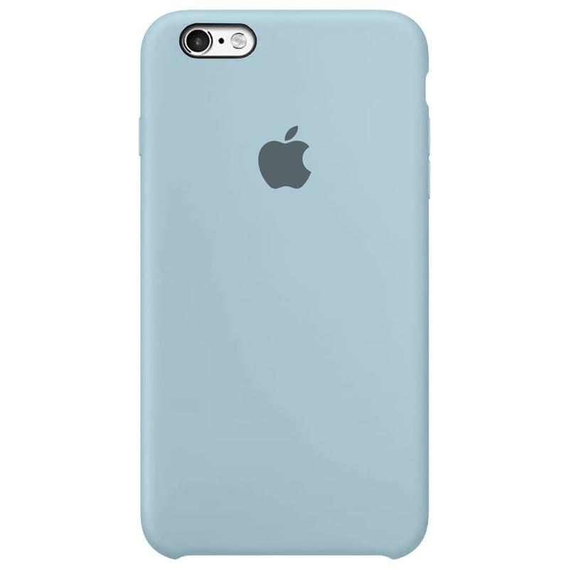 Case Capinha Azul Bebê para iPhone 6 Plus e 6s Plus de Silicone