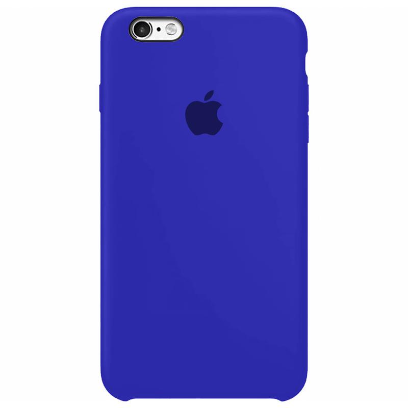 Case Capinha Azul Caneta para iPhone 6 Plus e 6s Plus de Silicone