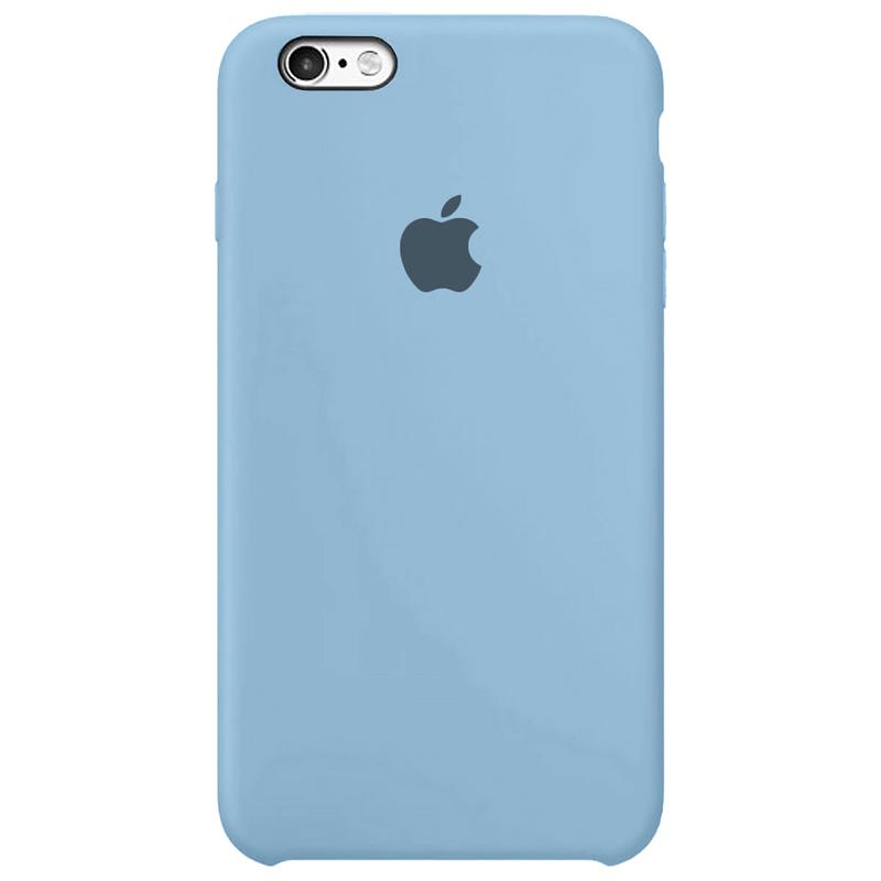Case Capinha Azul Caribe para iPhone 6 Plus e 6s Plus de Silicone
