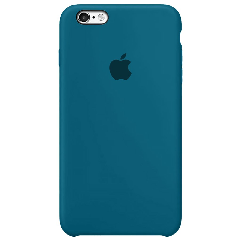 Case Capinha Azul Holandês para iPhone 6 Plus e 6s Plus de Silicone