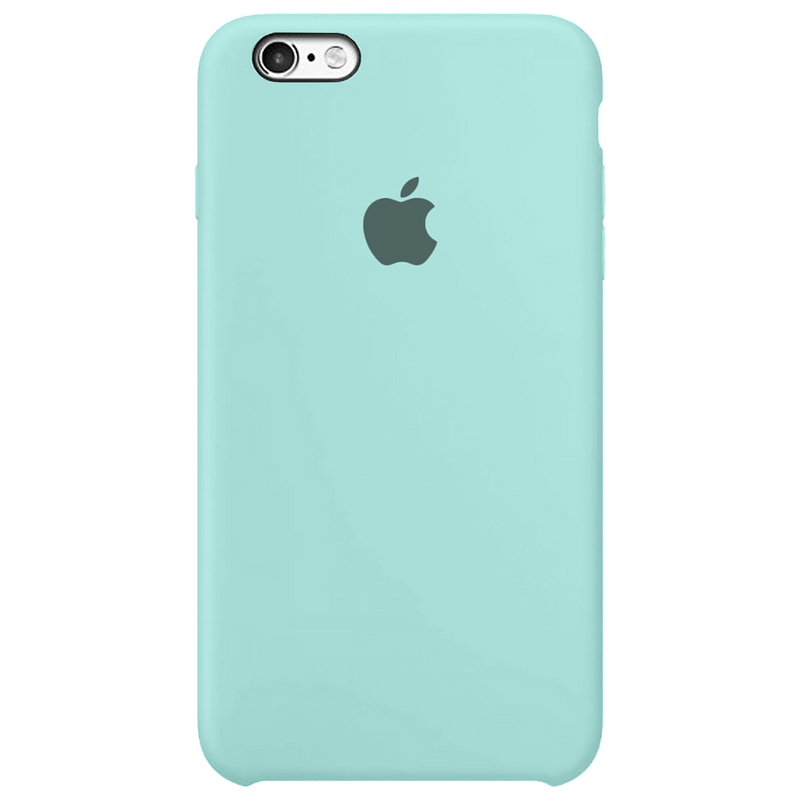 Case Capinha Azul Tiffany para iPhone 6 Plus e 6s Plus de Silicone