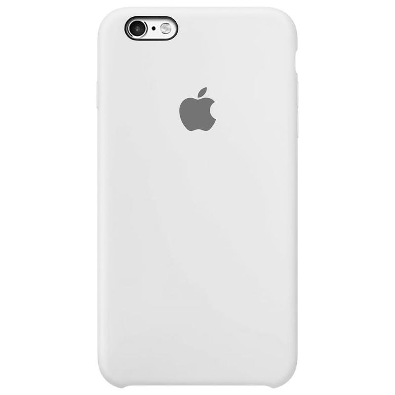 Case Capinha Branca para iPhone 6 Plus e 6s Plus de Silicone