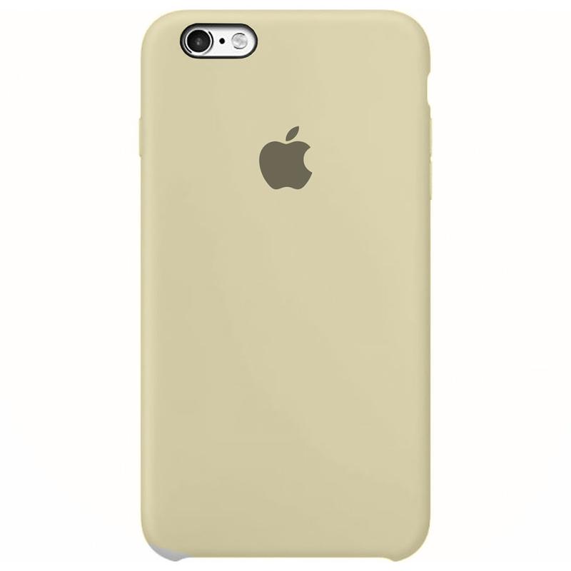 Case Capinha Branco Off-White para iPhone 6 Plus e 6s Plus de Silicone