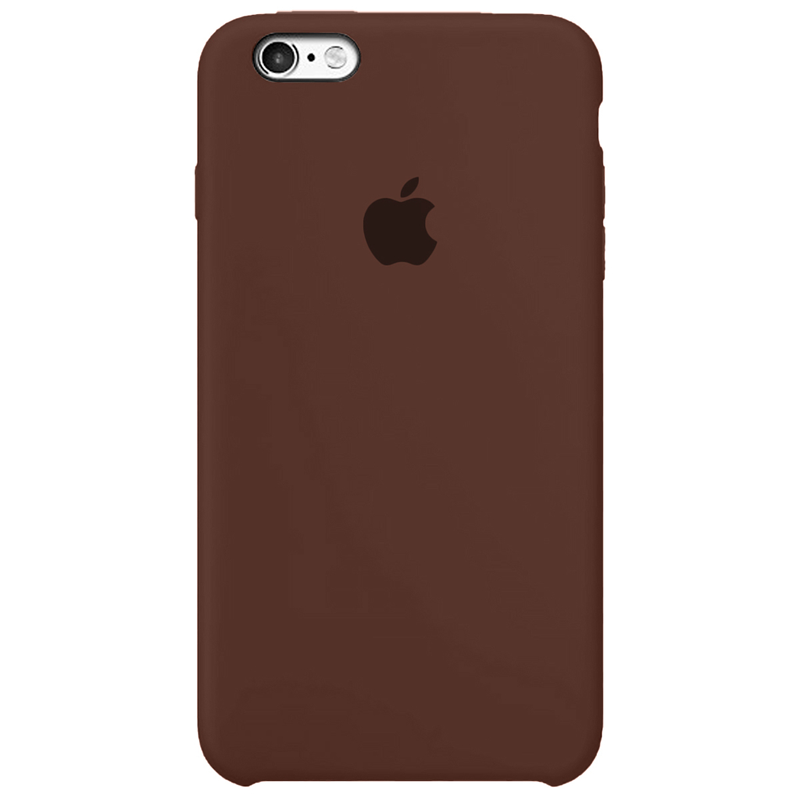 Case Capinha Chocolate para iPhone 6 Plus e 6s Plus de Silicone